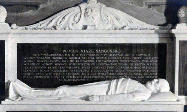 Kto zabił księcia Romana Sanguszkę?