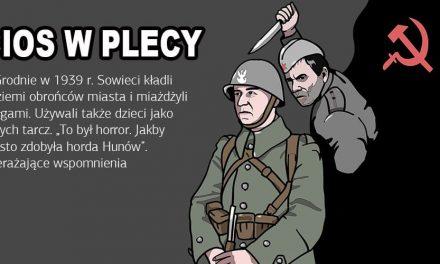 W 1939 r. Rosjanie kładli na ziemi obrońców Grodna i miażdżyli czołgami