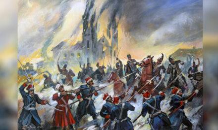 Bohaterska obrona Żytomierza przez konfederatów barskich