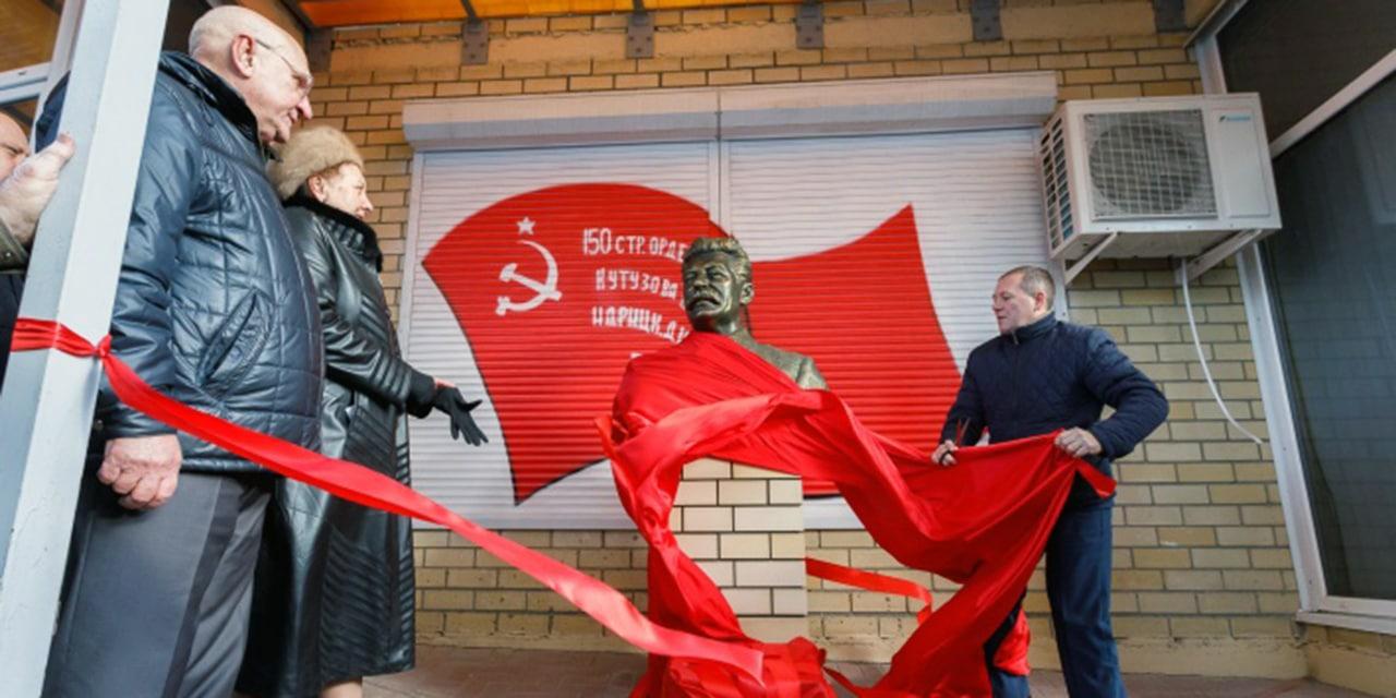 """""""Rosja to Stalin""""! W centrum Wołgogradu odsłonięto popiersie organizatora ludobójstwa Polaków w ZSRR"""