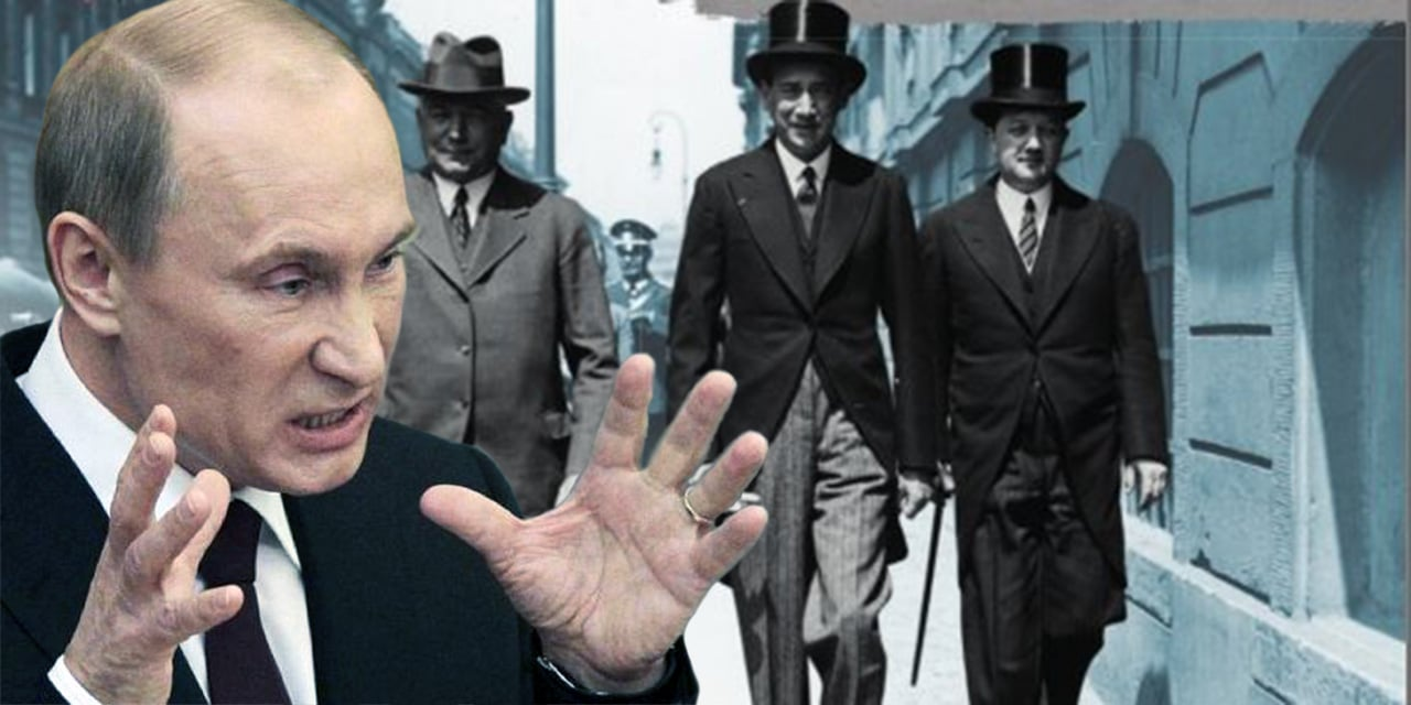 """Putin tworzy wizerunek wroga Polaka: przedwojennego ambasadora RP w Berlinie nazwał """"swołoczą i antysemicką świnią"""""""