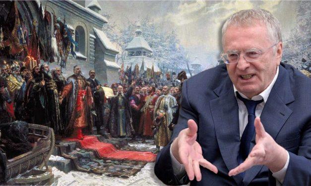 Kolejne bzdury Żyrinowskiego: Imperium Rosyjskie wyzwoliło Kozaków spod polskiego jarzma
