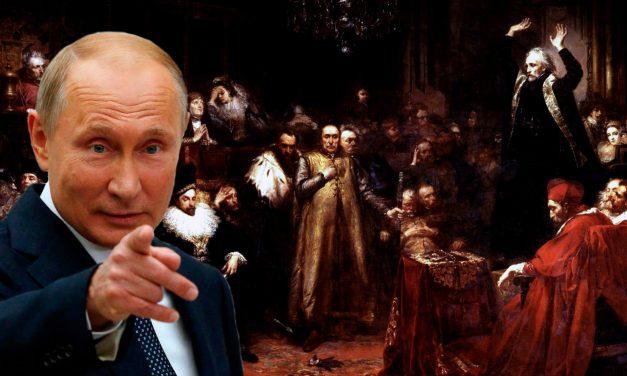 """Kolejne brednie Putina: Ukraińska tożsamość to efekt wpływu Rzeczypospolitej i """"katolickiego świata"""""""