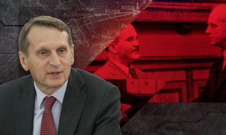 """Kolejne kłamstwa Rosji. Szef rosyjskiego wywiadu nazwał Polskę """"milczącym wspólnikiem"""" Hitlera"""