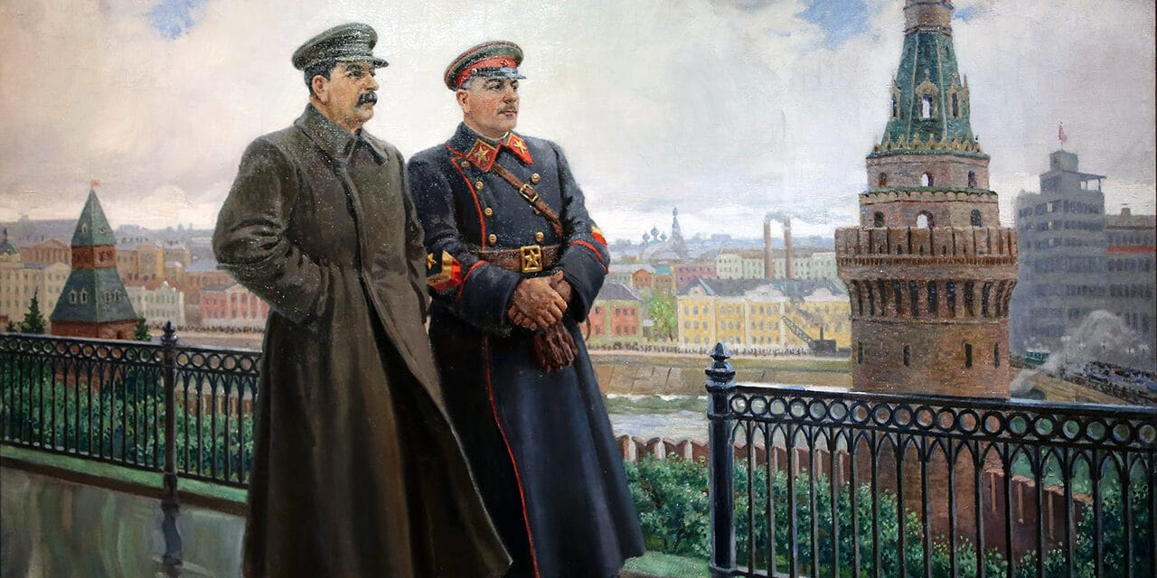 Rosyjscy okupanci nadają Donieckowi drugą nazwę: Stalino. Z kolei, Ługańskowi przywrócono sowiecką nazwę Woroszyłowgrad