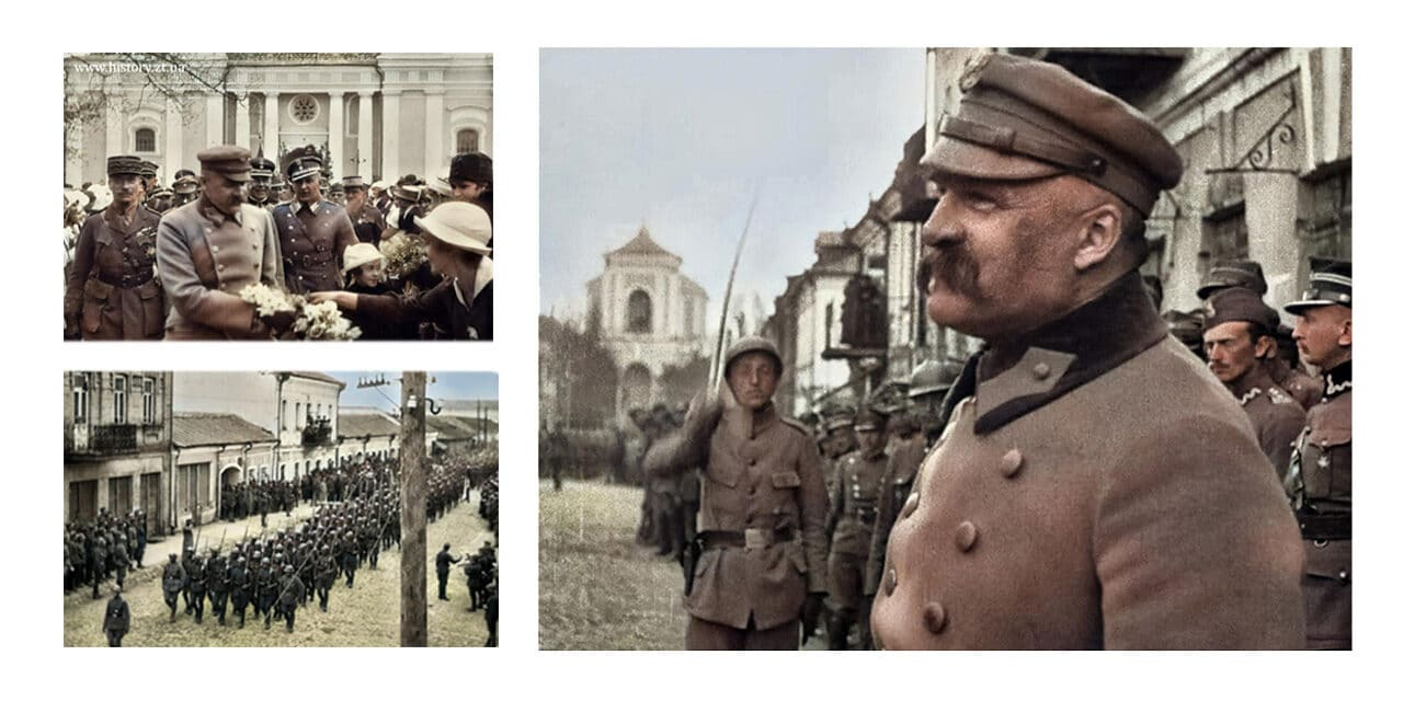 100 lat temu Marszałek Józef Piłsudski wziął udział w defiladzie zwycięskich wojsk polskich w Żytomierzu (ZDJĘCIA, WIDEO)