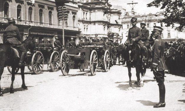 100 lat temu, 9 maja 1920 r., w Kijowie odbyła się wspólna defilada zwycięskich oddziałów polsko-ukraińskich