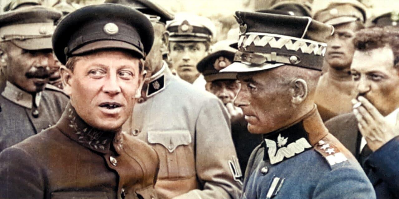 7 maja 1920 roku polskie wojska oswobodziły Kijów – stolicę Ukrainy