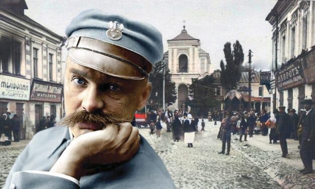 """100 lat temu Marszałek Piłsudski powiedział, że prawdziwych patriotów można było znaleźć wyłącznie na Kresach: """"Polska to obwarzanek: kresy urodzajne, centrum – nic"""""""