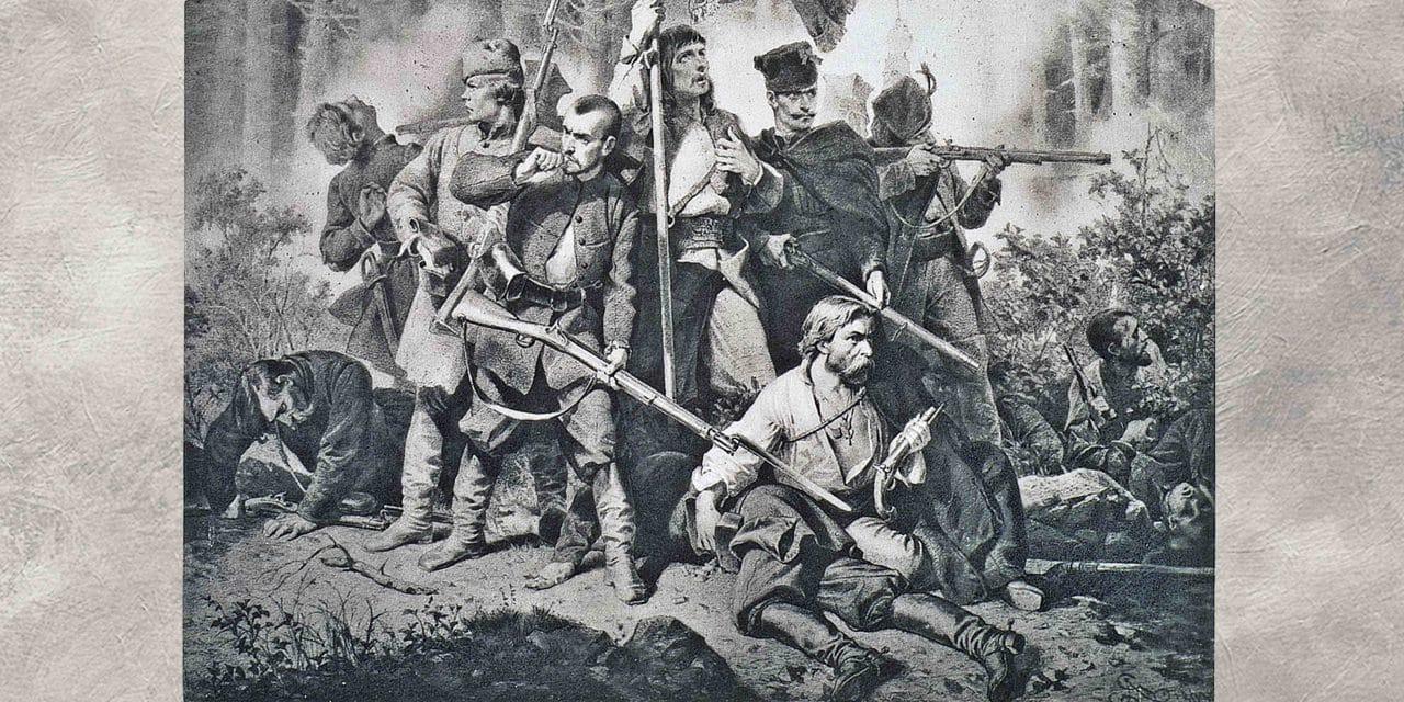 Rok 1863. Oni walczyli za naszą wolność na naszej ziemi