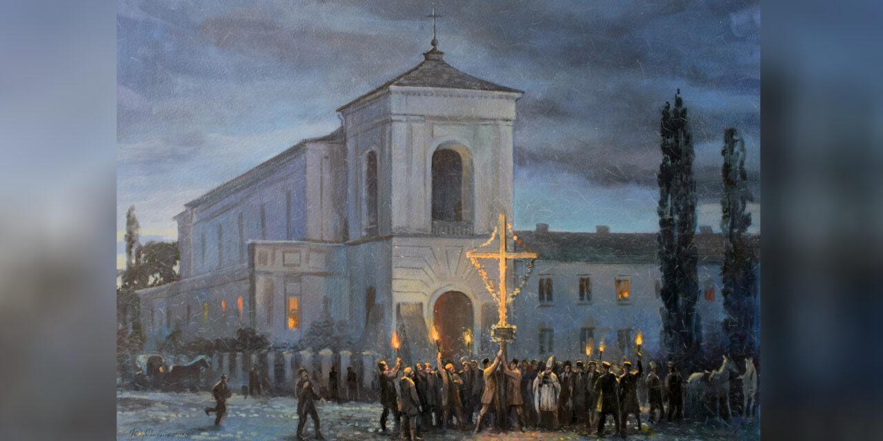 Rok 1861. Stan wojenny w Żytomierzu. W przededniu Powstania Styczniowego miasto to pod względem patriotyzmu, było porównywalne z Warszawą