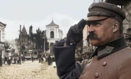"""Piłsudski w Żytomierzu. """"Cała ziemia kresowa wita wodza w uniesieniu i z radością"""""""
