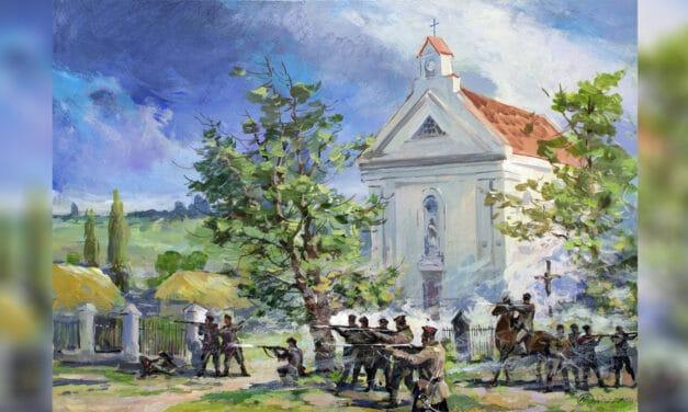 Powstanie 1863 roku na Ukrainie wybuchło w maju. Największe bitwy toczono pod Żytomierzem