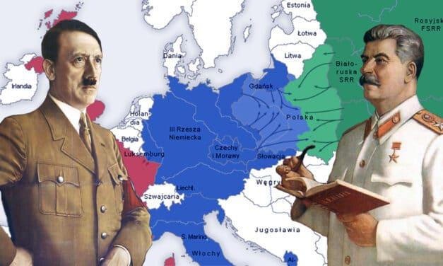 82 lata temu stalinowska Rosja i hitlerowskie Niemcy podpisały Pakt Ribbentrop-Mołotow